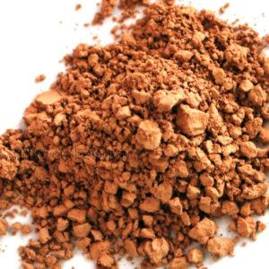 dark beige foundation - evens out skin tone in the medium dark range.